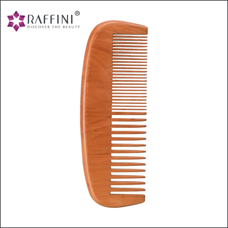 Fashionable design stylish natural and healthy fancy bamboo comb for fine hair