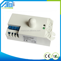 Ceiling mount 5.8GHz PC material 12v motion sensor