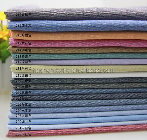 polyester/cotton fabric TC fabric oxford cloth garment oxford cloth