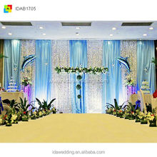 wedding backdrop decoration/muslim wedding decoration/wedding dripping decoration