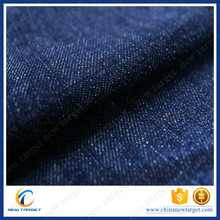 Cotton pacific blue new design denim fabric for jeans