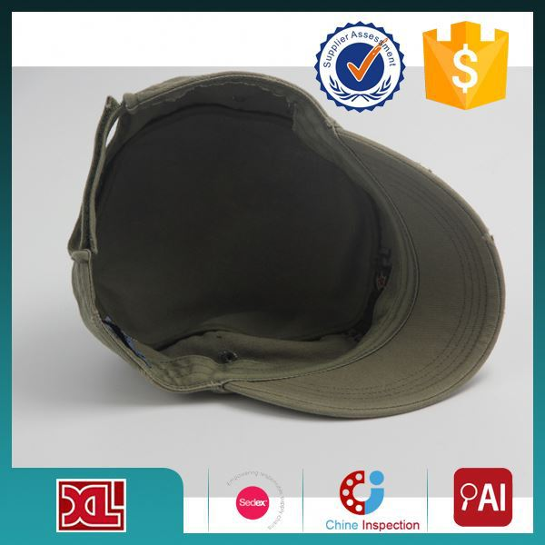 Professional OEM/ODM Factory Supply Top Quality army cap military hat with embroidery pattern with good prices