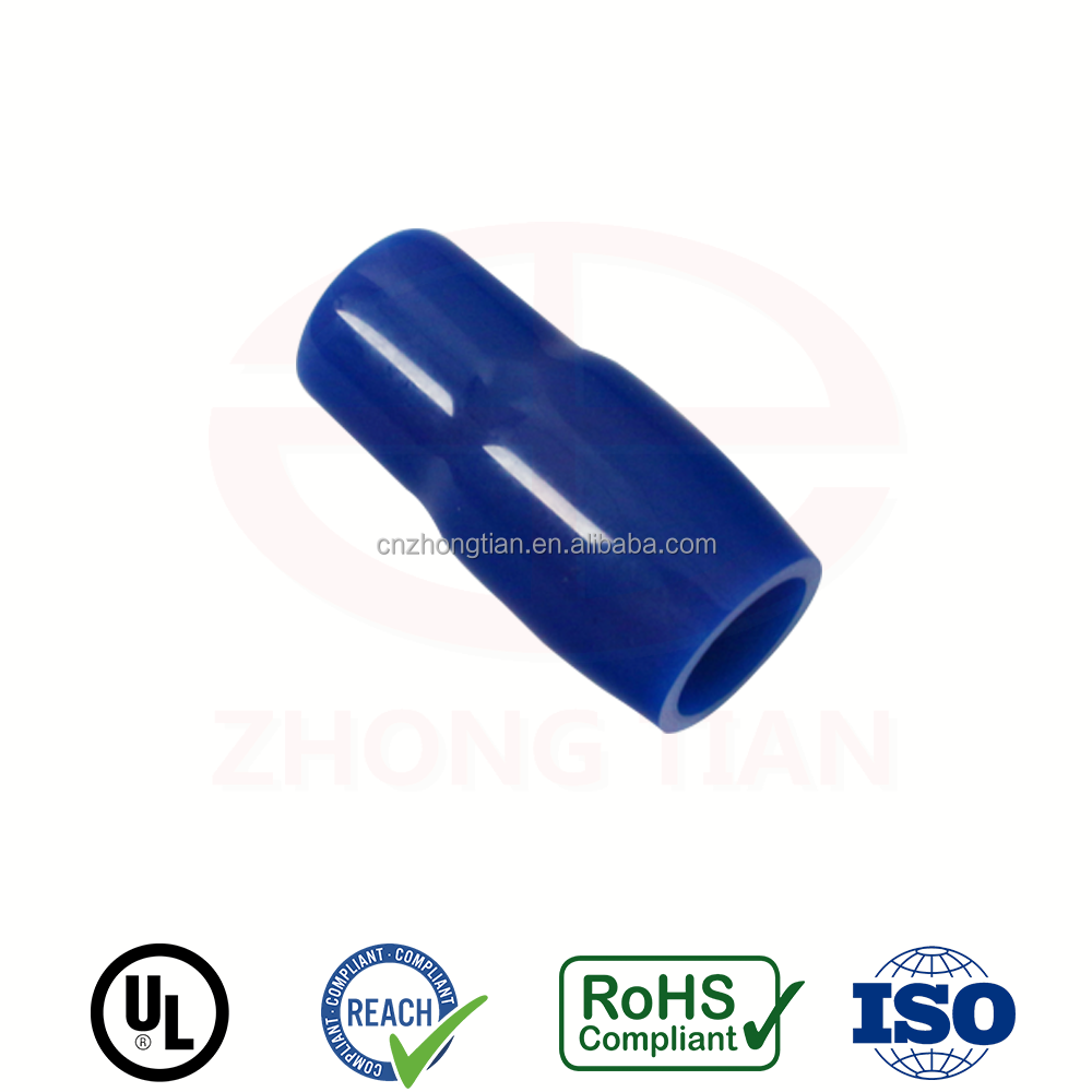 9.5 11.8 13.9 16mm Hole PVC Insulation Fork Terminal Cap Boot Cover