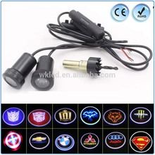 hot selling 12v wireless mustang led car logo light