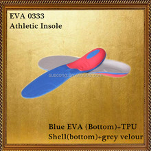 Blue EVA vibrating insoles