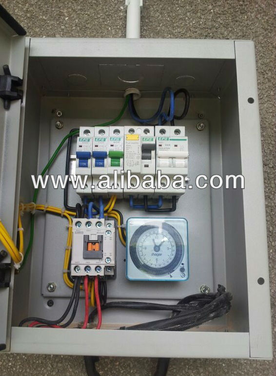 STREET LIGHTING SWITCH BOARD