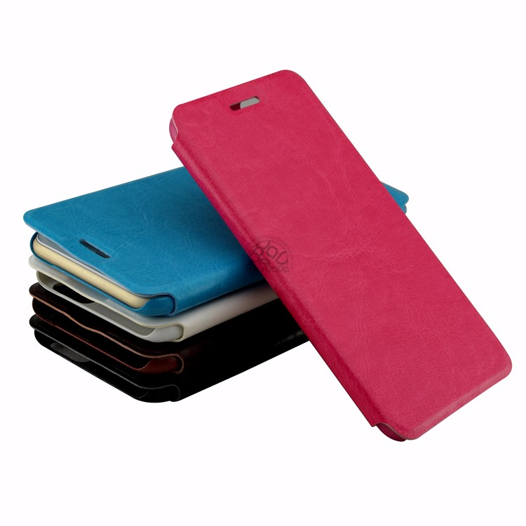 Factory Pu Leather Flip For Lenovo A536 Case