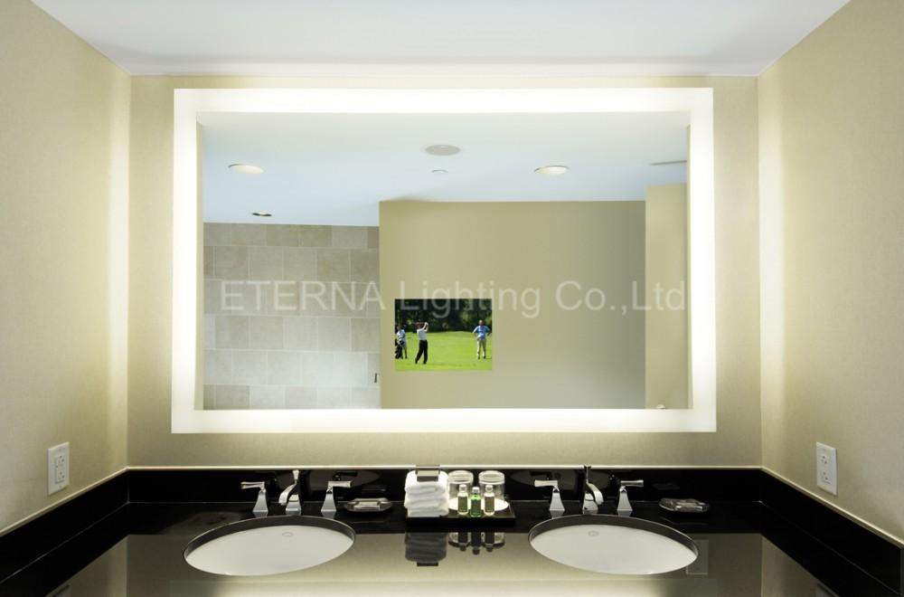 Eterna led lighted dressing vanity illuminated full length bathroom mirror buy bathroom - Consider buying bathroom mirror ...