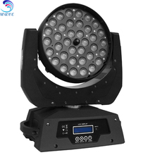 36pcs Quad 4 in 1 Rgbw 10w Led Moving Head Light Stage Lighting
