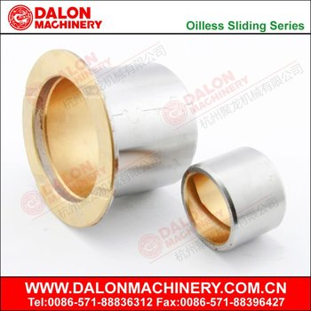 Bi-metal sliding bearing