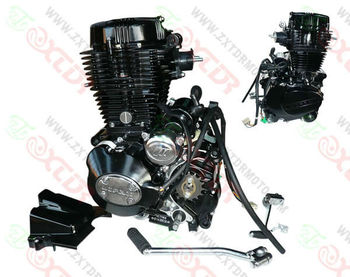 Motorcycle 250cc Vertical Engine