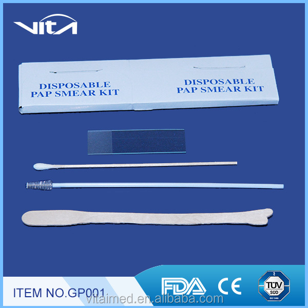 Sterile pap smear test kit for swab GP001