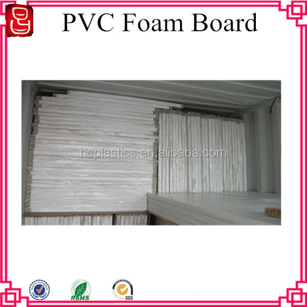 4 x 8 feet Different Density PVC Foam Sheet Board / PVC Foam Board Sheet
