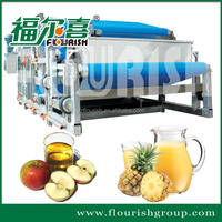 Industrial concentrated fruit belt juice production machine