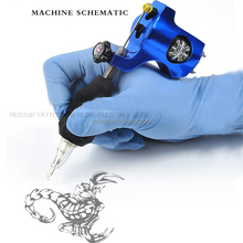 New design Electric gun type Bishop rotary tattoo machine