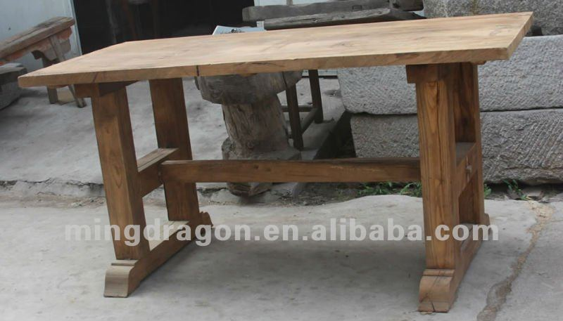 Chinese antique furniture elm wood shandong Table