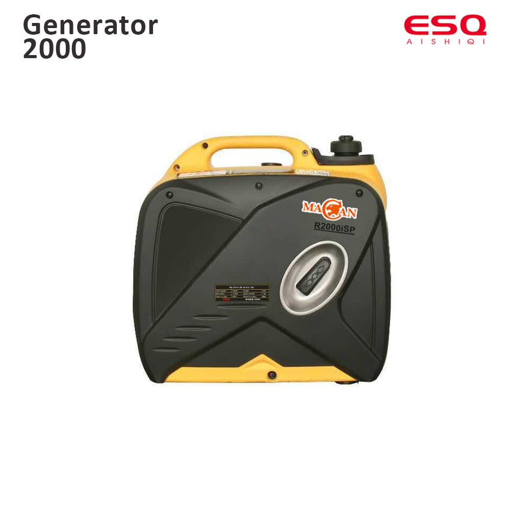 2000W Gasoline mini generator high quality good price R2000iSP Bright yellow