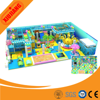 Hot Products Kids Fun City Inflatable Playground At Indoor