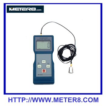VM-6320 High-Performance Acceleration Vibration Meter , Portable Digital Vibration Meter