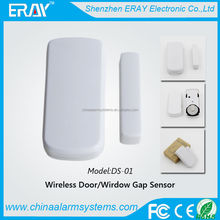 Window/Door Guard!!! low voltage alert magnetic sensor alarm door window security system with 433/315MHZ