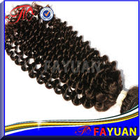 2013 new kinky curly cheap 100% Virgin Remy Burmese hair Weave