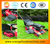 "18"" Hand push Steel deck Gasoline Lawn mower with Hard catcher(whatsapp: 0086 18939583282)"