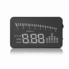 Muliti-color 3.0'' HUD Display Car OBDII Hight Bright Heads Up LED Display Speed in MPH