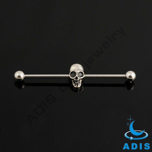 Fashion jewelry 2016 colorful industrial ear barbell piercing