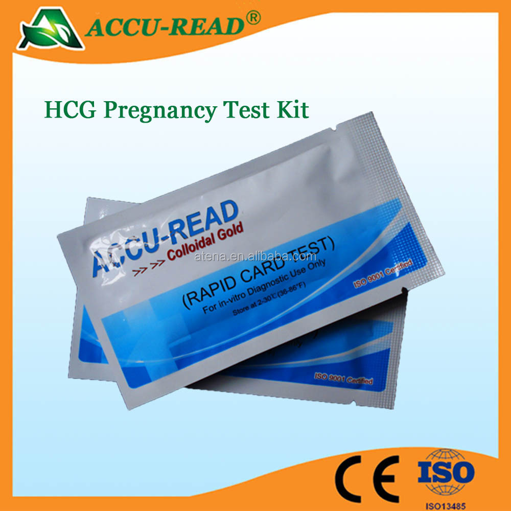 Promotional High Accuracy Urine HCG Pregnancy Test Strip