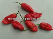 Bhut Jolokia Pepper, Ghost Chilli Pepper, Naga Bhut Jolokia