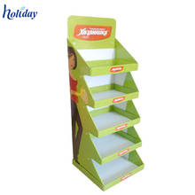 Wholesale Supermarket Promotion Cardboard T Shirt Display Stand Rack,Portable T-Shirt Floor Display Stand Rack