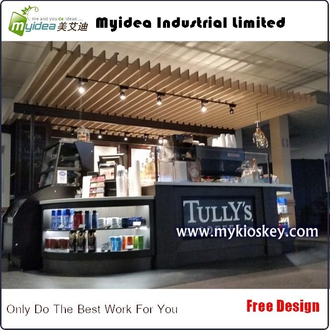 made in China juice bar design/mall food kiosk/ coffee shop ...