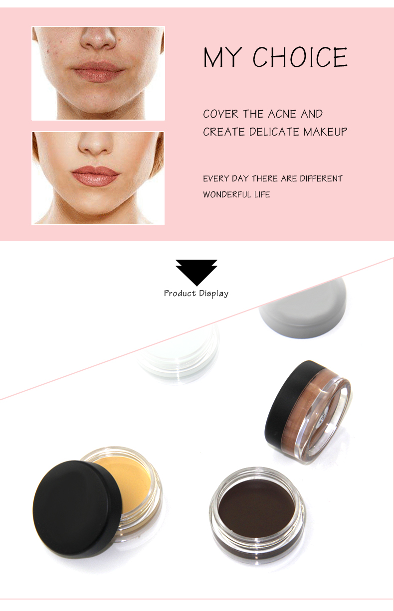 makeup cosmetics concealer cream concealer with brush