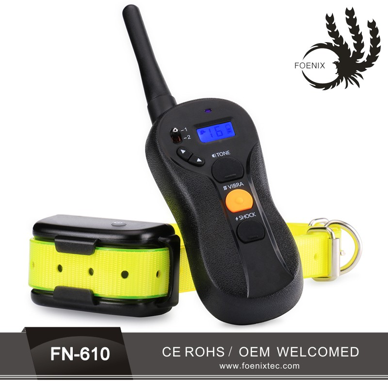 July newest product Pet Dog Training E Collar Electric Shock Device