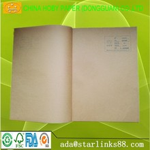 022A import lightyellow kraft paper for food packing