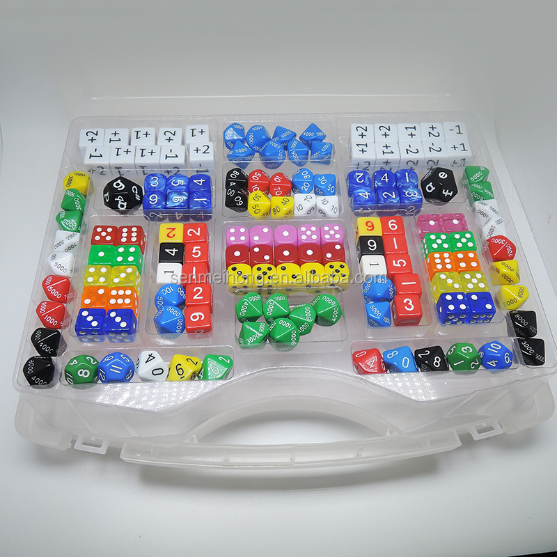 Dice Manufacturers Custom Made Plastic Toy Education Playing & Game Dice