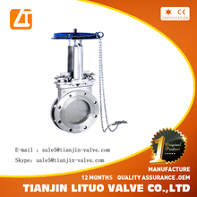 Hot sale Non-Rising Stem Knife Gate Valve from China