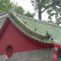 glazed roof tiles ancient building material ceramic roof tiles for tea house