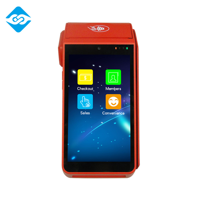 "Good Quality Quad core 5"" Handheld EFT Android POS for Mobile Payment"