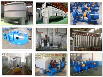 High Speed Paper Pulp Processing Equipment
