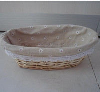 2016 new arrival Wicker eco-friendly beautiful food or bread basket