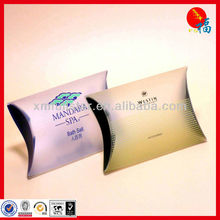 Plastic pillow packaging box in PVC