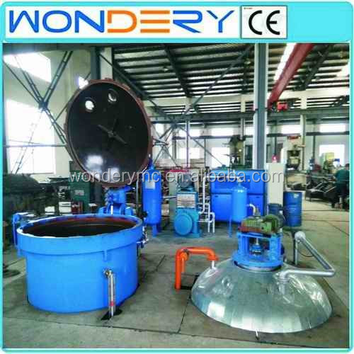 High voltage motor rotor/stator vacuum pressure impregnation machine