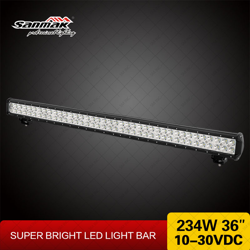 36'' LED Light Bar For Offroad Vehicle 4WD