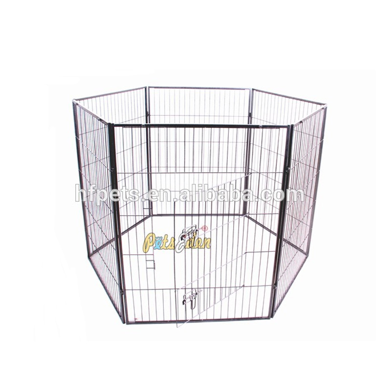 Heavy Duty Metal Expandable Pet Fence Pet Playpen With 6 Panels