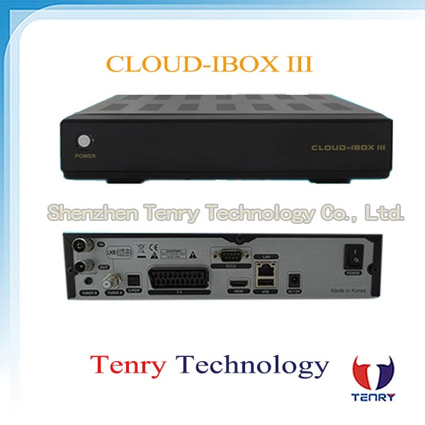 Cloud ibox 3 Twin Tuner DVB-S/S2+T2/C