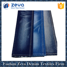 Professional factory high qualtiy premium cotton polyester rayon spandex denim wholesale fabric for jeans