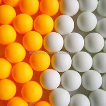 Free Of Shipping Good quality 40mm orange seamless white PP beer pong ball pingping ball table tennis balls -144pack