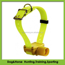 TPU beeper dog collar strap with water and weather resistant feature