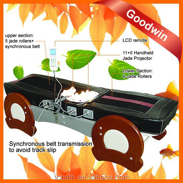 2015 Made In China Auto Jade Thermal Folding Infrared Digital Electric Massage Bed for Phisiotherapy GW-JT10